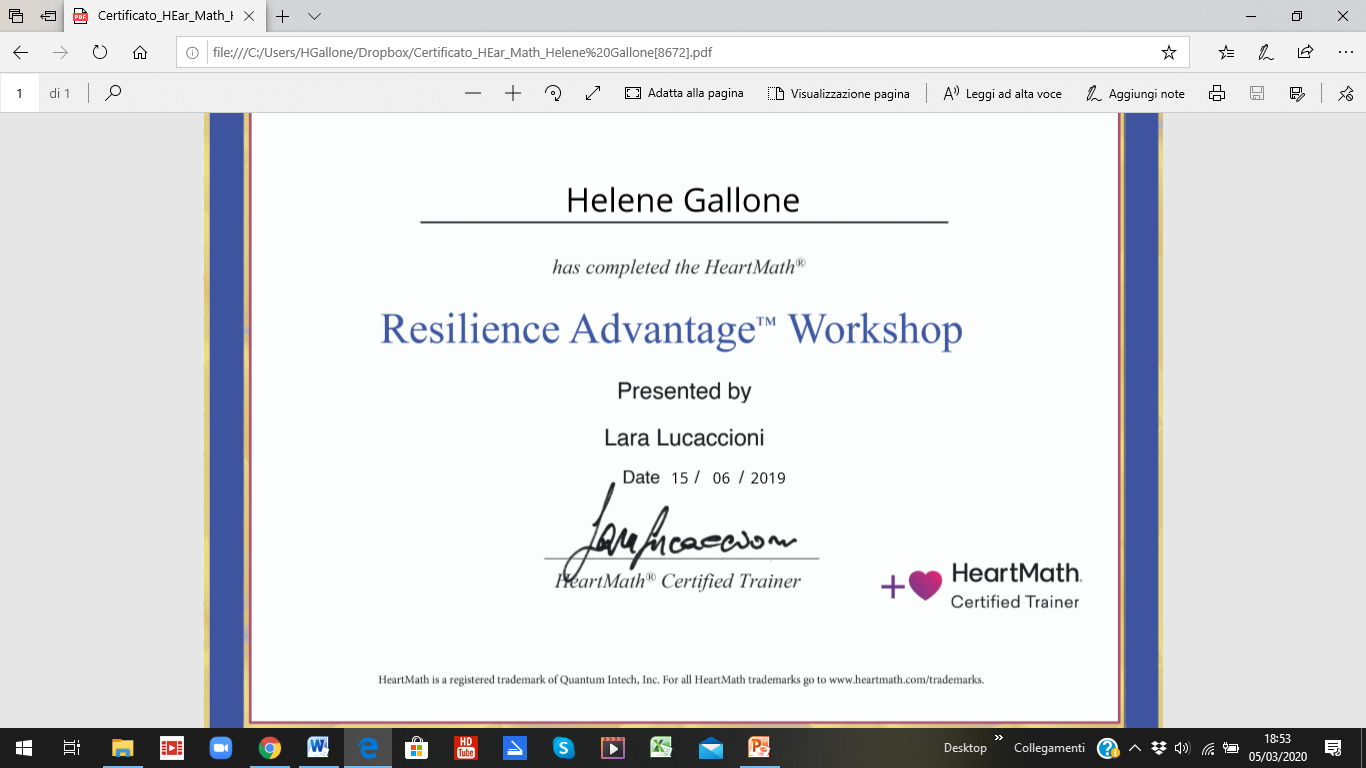Resilience Advantage™ Workshop