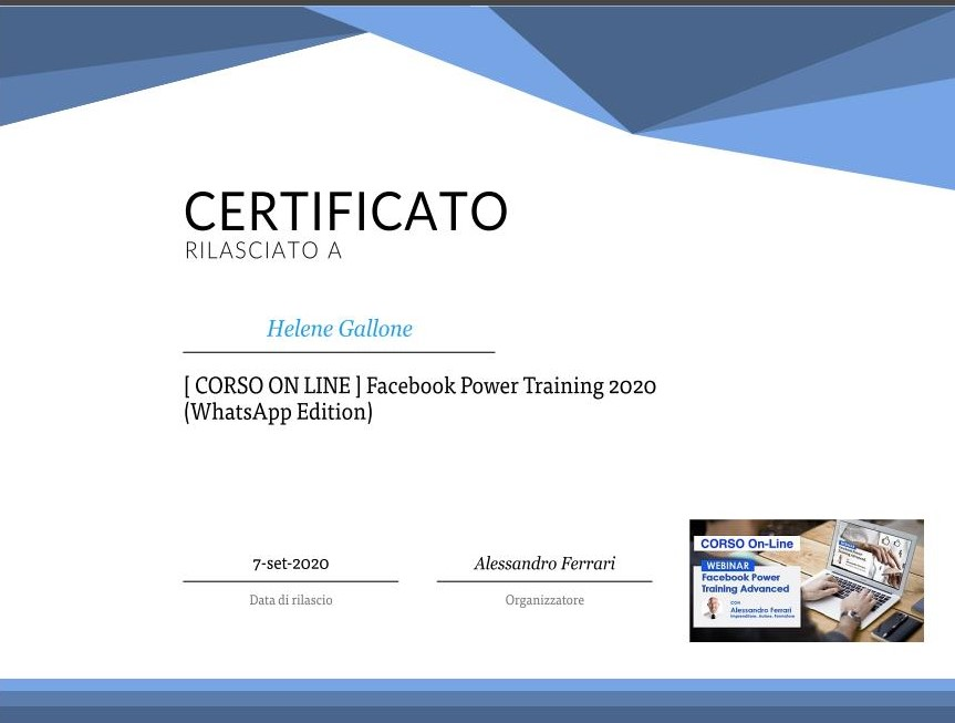 FACEBOOK-WHATAPP-POWER TRAINING