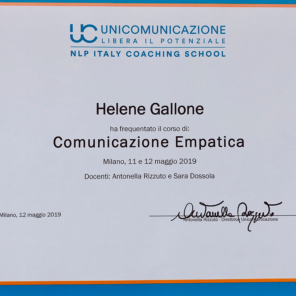 NLP ITALY Coaching School